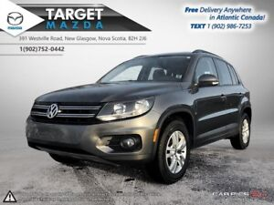 2015 Volkswagen Tiguan 4MOTION AWD! AUTO! HEATED SEATS! ONE OWNE