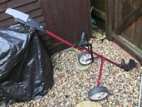 Ultra Lightweight Donnay golf trolley