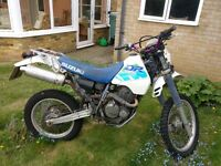 Suzuki DR350 1993 for sale, not much needed for road use, £500 spares or repair, V5 included