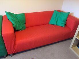 Ikea Klippan Sofa - Orange