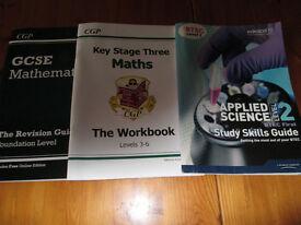 GCSE Maths/English Books & Revision Cards