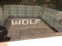 Wolf double oven professional series