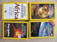 31 National Geographic Magazines
