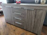 Sideboard and coffee table set