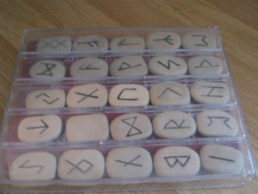book of runes and stones
