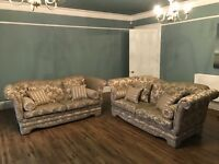 Two Duresta Large Sofas