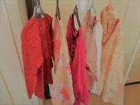 5 Girls Bundle Spring Summer Long Sleeve Blouses from 5/6 - 7/8 years - Mini Boden,H&M