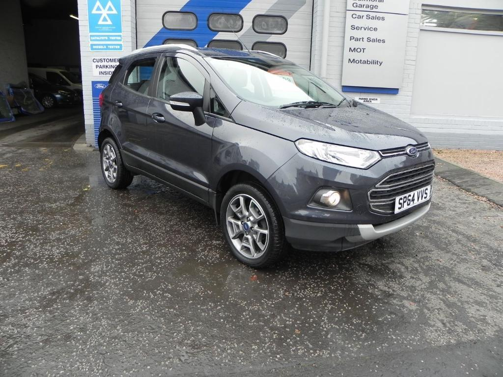 Ford Ecosport Titanium X Ps Sea Grey Metallic