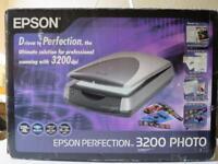 new epson 3200 photo scanner