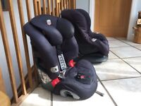 Baby car seat x2 high quality Mothercare