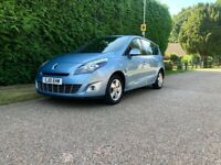Renault Grand Scenic 1.5 dCi Dynamique TomTom 5dr 7 Seater Diesel In Blue - Service History