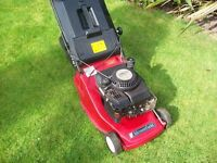 MOUNTFIELD PETROL SELF PROPELLED MOWER WITH GRASS BOX