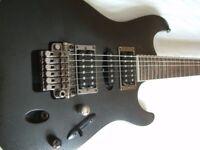 Ibanez S470DX Saber series electric guitar - Korea - '03 - Grey Pewter Matte