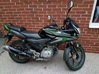 Honda CBF125cc motorcycle