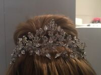 Liza designs bridal tiara