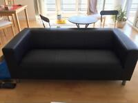 BRAND NEW-Leather Effect Sofa & Chair