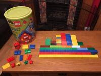 Huge Lego Duplo XXL 215 Tub 5516 - 231 Bricks - 2-5 Years - Good Used Condition