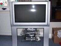Panasonic 26 inch Television with stand (Silver)