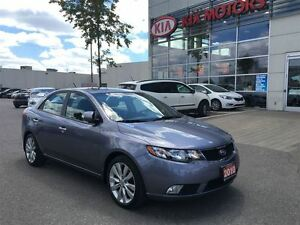 2010 Kia Forte SX LEATHER SUNROOF BLUETOOTH ALLOYS LOADED!!