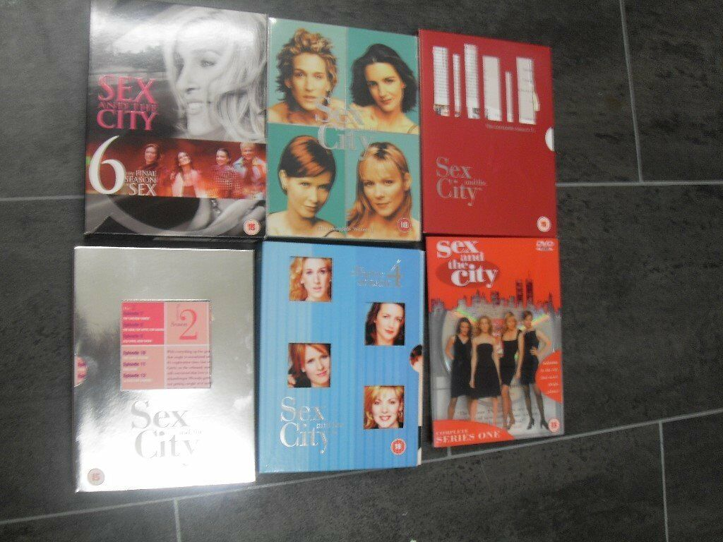 BOX SET OF SEX AND THE CITY