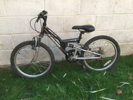 Child's bike. 20 inch wheel size. Suitable for 5-8 year old