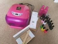 Hybrid nail kit