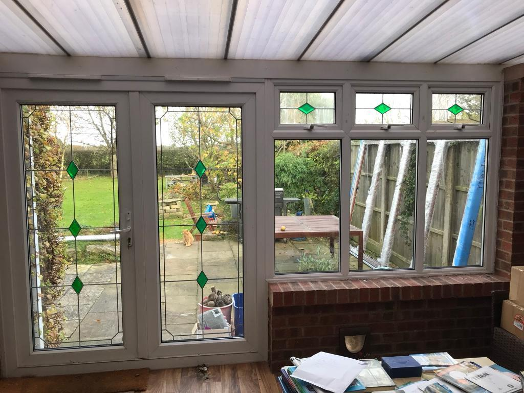 Upvc french doors windows in wareham dorset gumtree for Upvc french doors dorset