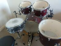 Mapex Horizon 5 Piece Drum Kit with Extras. ONO