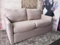 New Furniture Village Venus 2 Seater Fabric Sofa Bed Delivery Available