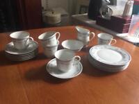 Retro Incomplete Tea Set