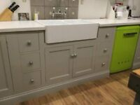Solid Wood Belfast Sink Base Unit