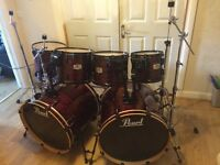 Pearl EXR Drum Kit // Double Twin Bass Drums // Refurbished // Rock Monster // Free Local Delivery