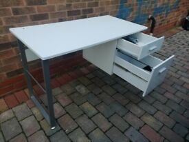 office worktop table white
