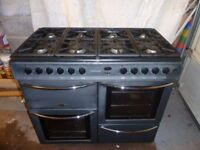 Belling dual fuel range cooker.