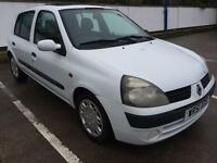 2001 RENAULT CLIO 1.5 DCI TURBO DIESEL, **NEW MOT NOVEMBER 2017** 1 OWNER FROM NEW