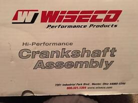 Yamaha WR450F crankshaft.