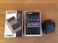 Digitech grunge distortion pedal