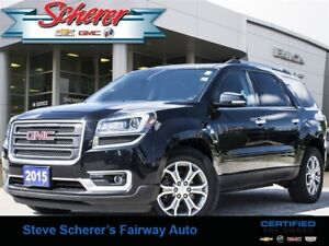 2015 GMC Acadia SLT 1OWNER ALL WHEEL DRIVE LEATHER