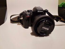 Nikon D3300 Digital SLR + Lens