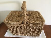 Small Picnic / Storage Basket