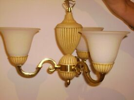 Ceiling lights - set of 3 available - top quality - David Hunt Lights - Perfect condition