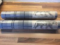 2 * Rolls of Ceylan Mcgregor Wallpaper in Stone