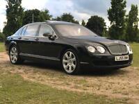 2005 (Sep 55) BENTLEY FLYING SPUR 6.0 W12 - Saloon 4 Door - AUTO - Petrol - BLACK *FBSH*15 STAMPS*PX