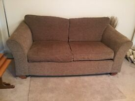 Large two seat sofa.
