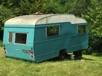 Vintage / classic caravan