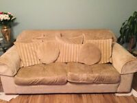 Collins and Hayes 3 Piece Sofa Suite
