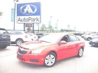 2014 Chevrolet Cruze 1LT/ BLUETOOTH/ ONSTAR/ CRUISE CONTROL!