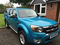 FORD RANGER THUNDER, DOUBLE CAB, 4X4 XLT TDCI PICK-UP
