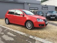 2008 VOLKSWAGEN GOLF GT TDI 140 RED ..... p/x welcome