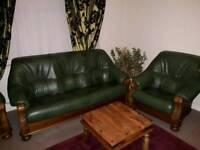 Sofa 3 piece leather